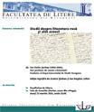 """Lansarea volumului """"Studii de literatură rusă și alte eseuri"""""""